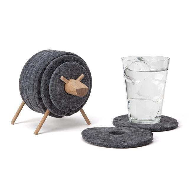 Black Sheep-Themed Coasters