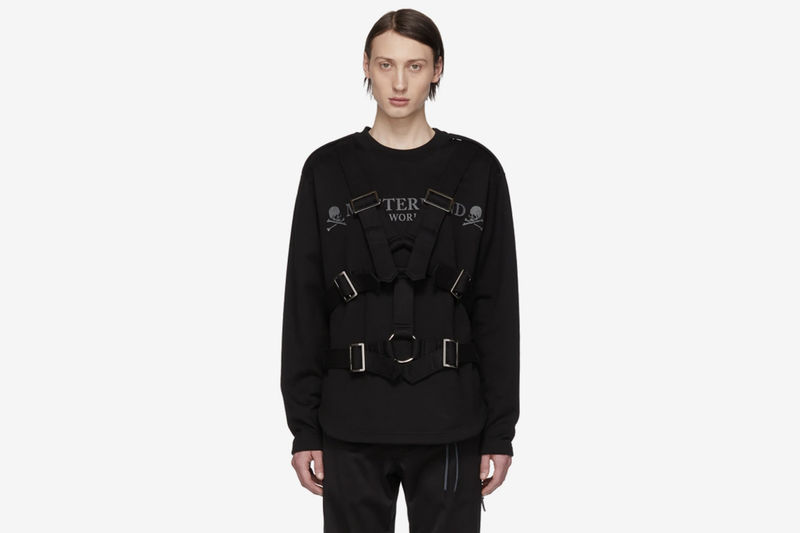 Caged-Styled Strapped Sweaters