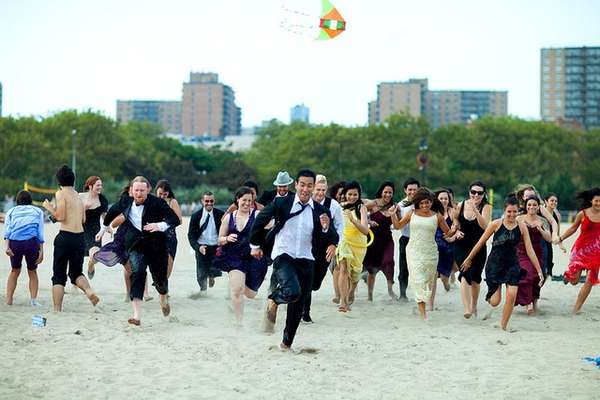 Formalwear Beach Parties