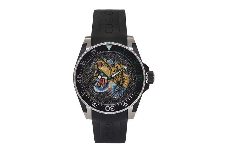 High-Fashion Tiger Motif Timepieces