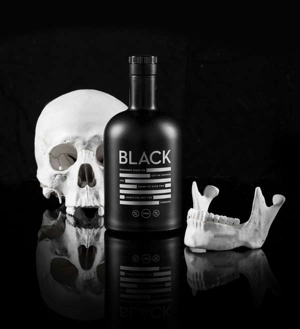 Blackout Booze Branding