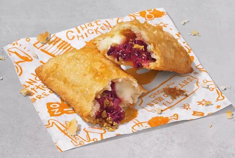 Blackberry Cheesecake Hand Pies