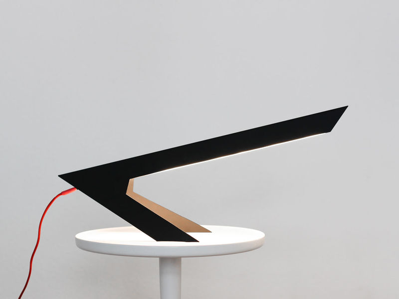 Angular Bird-Inspired Lamps