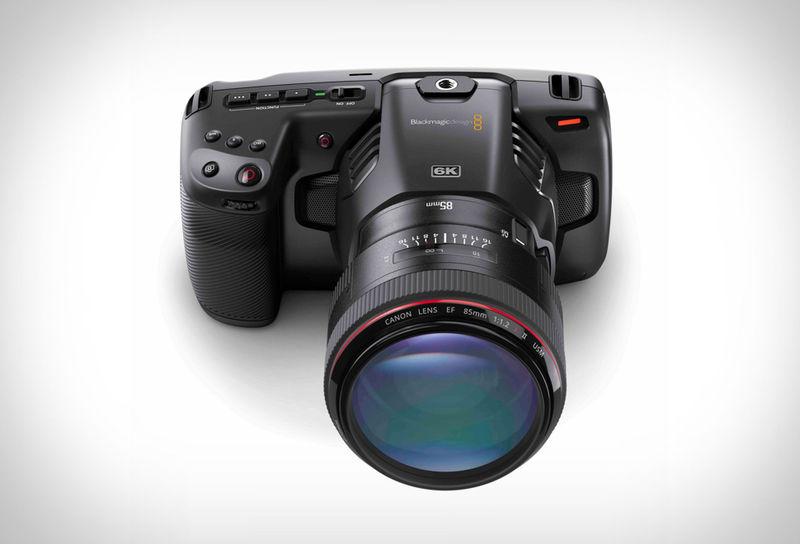 Carbon Fiber-Accented 6K Cameras