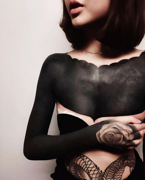 Intense Black Tattoos