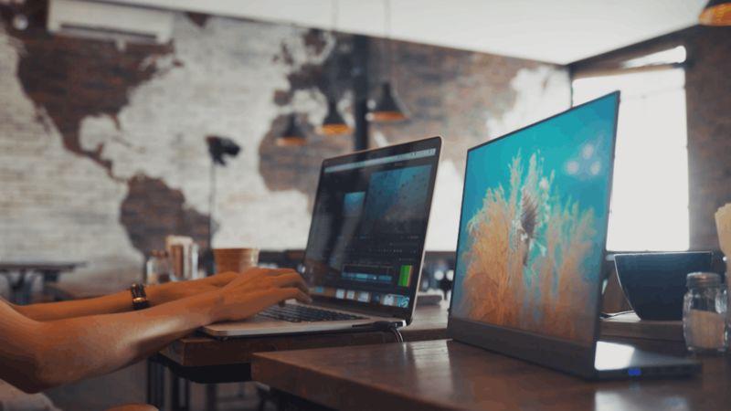 Portable Productivity-Enhancing Monitors