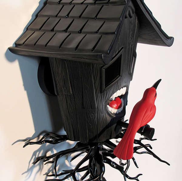 Surreal Carnivorous Birdhouses
