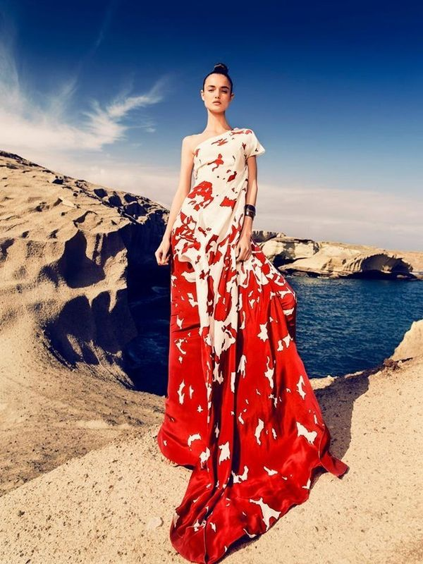 Glamorous Topography Editorials