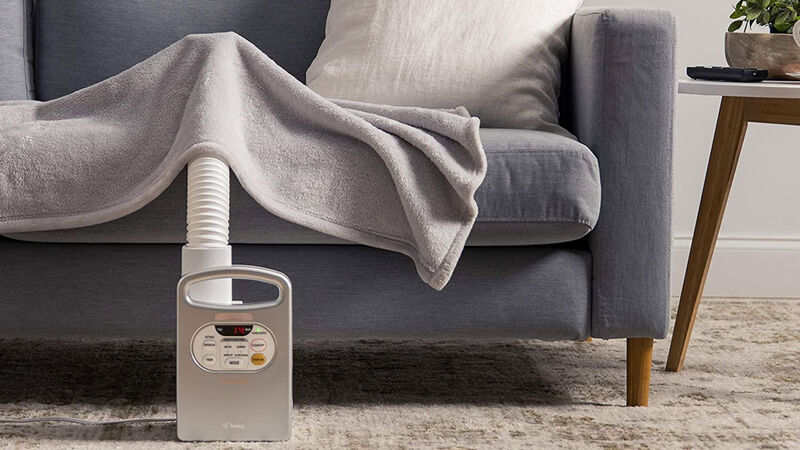 Compact Powered Bedding Warmers