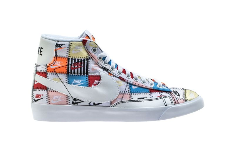 Colorful Patchwork Sneaker Updates