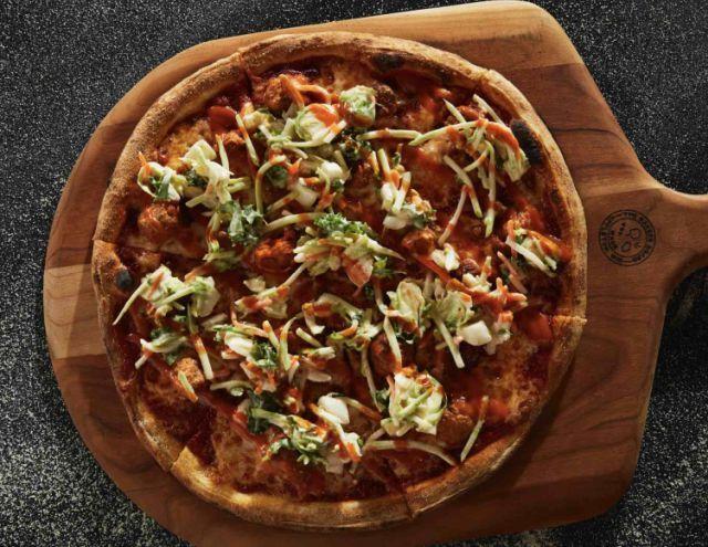 Nashville Hot Chicken Pizzas