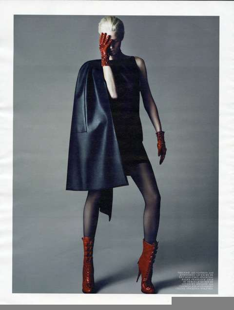 Monochrome Superhero Fashion