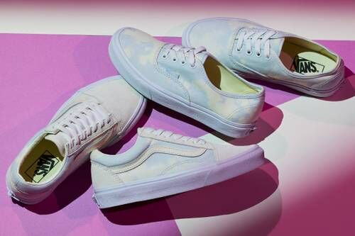 Uniquely Bleached Sneakers