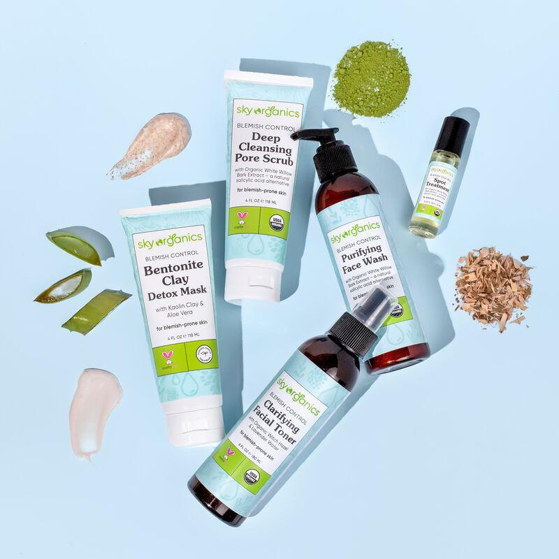 Plant-Powered Anti-Blemish Skincare