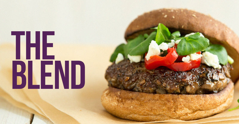 Sustainable Blended Burgers