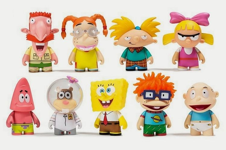 Nostalgic Collectible 90s Figures