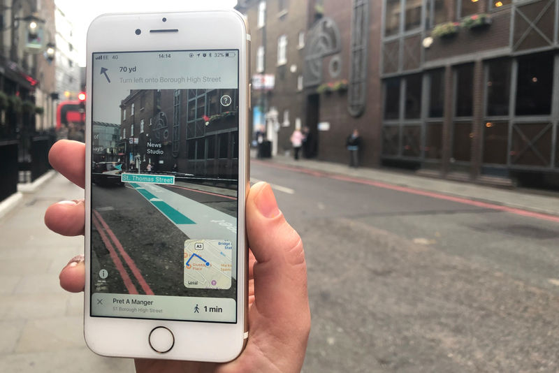 AR Navigating Apps