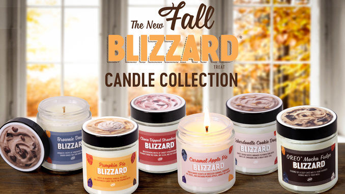 Fall-Themed Ice Cream Candles