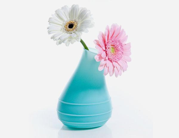 Horn-Like Flower Holders