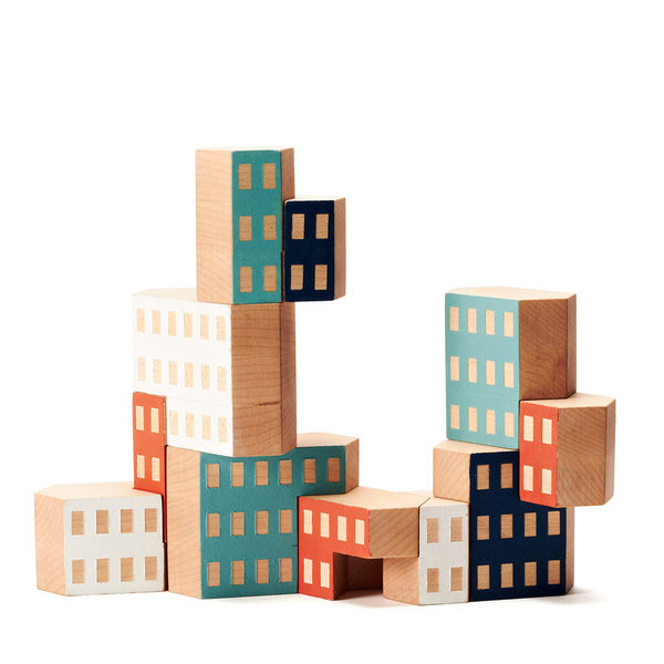 Urban Building Block Games