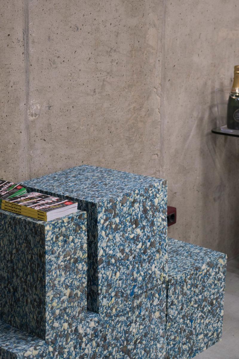 Marble-Imitating Foam Blocks