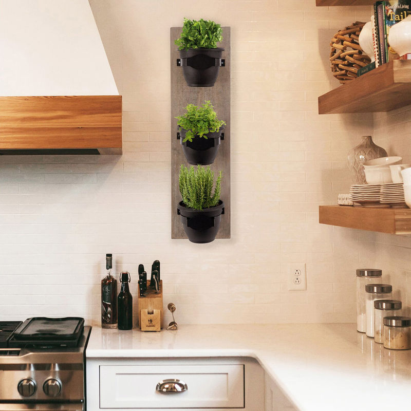 Self-Watering Vertical Herb Planters