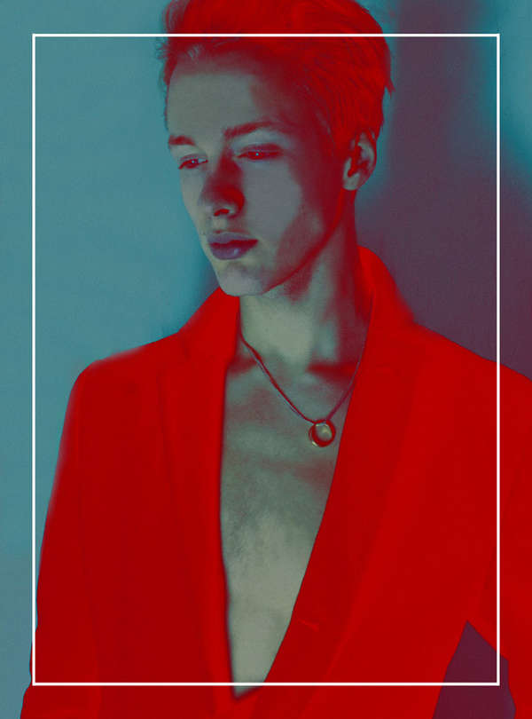 Infrared Androgyny Editorials