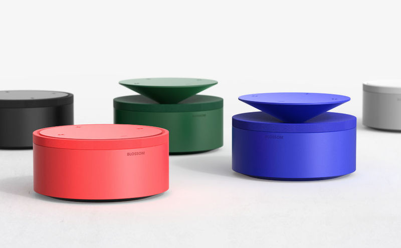 Blooming Pop-Up Speakers