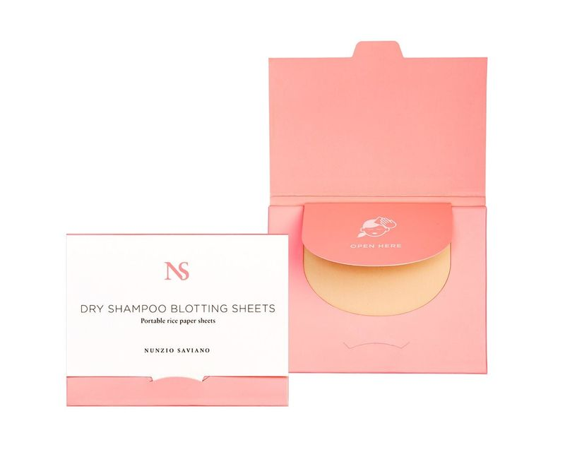 Dry Shampoo Blotting Sheets