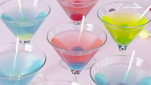 Candy-Coated Bar Drinks