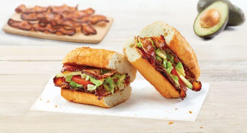 Applewood Smoked Bacon Sandwiches