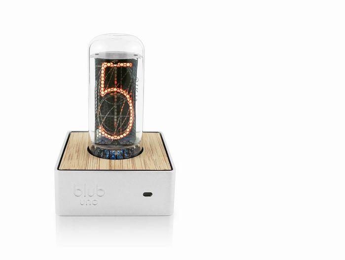 Neo-Retro Tube Clocks