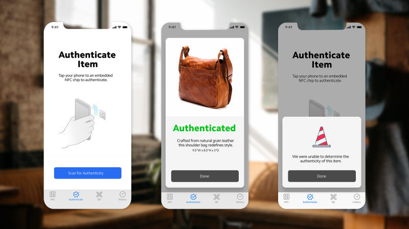 Product Authenticating Smartphone Software