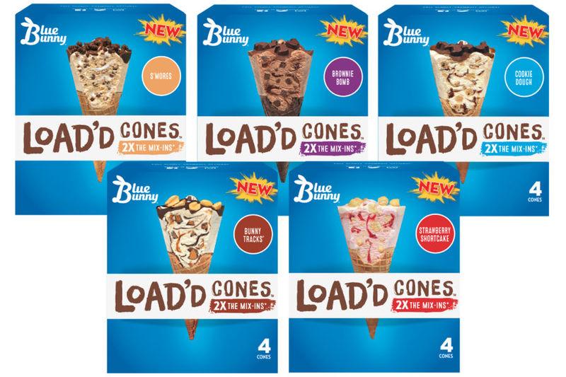 Treat-Filled Frozen Cones