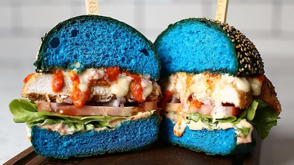 Image result for blue burgers