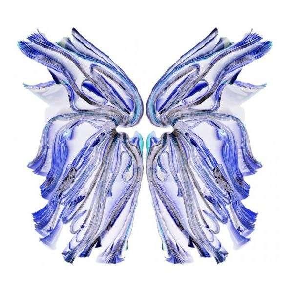 Fluttering Book Art