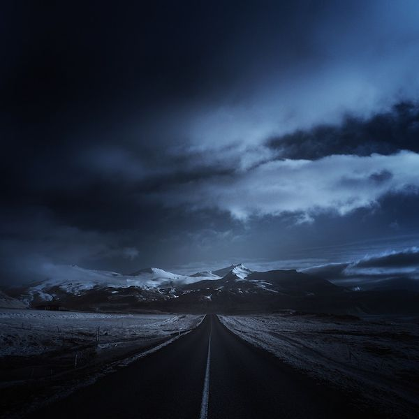 Dark Icelandic Photography
