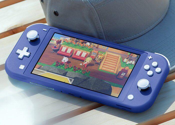 Vibrant Handheld Gaming Consoles