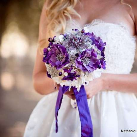 Brooch Wedding Bouquets