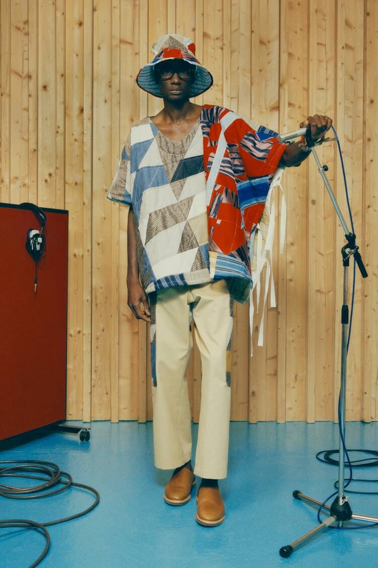 Black Folk-Inspired Intricate Fashion