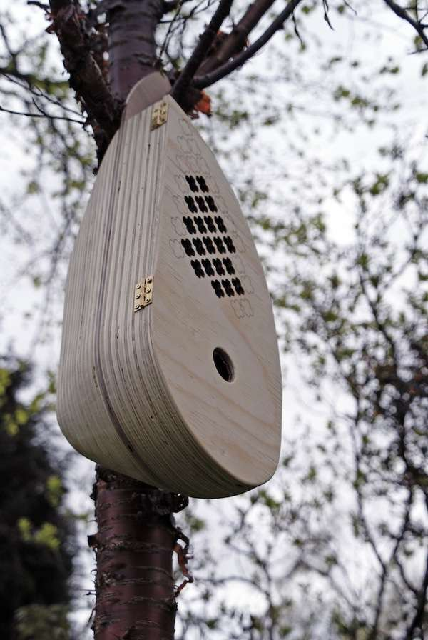 Musically Inclined Bird Feeders