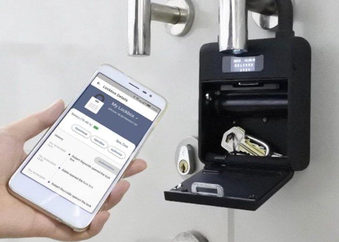 Smart Residential Lockboxes