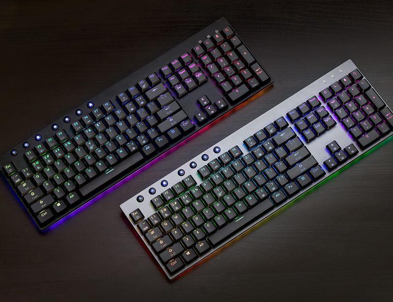 Multi-Device Mechanical Keyboards