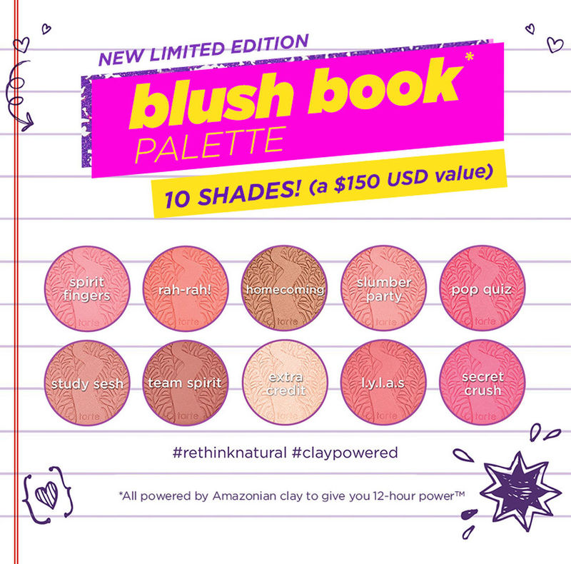 Back-to-School Blush Palettes