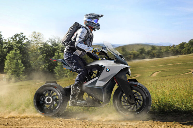 Conceptual Eco Conscious Motorcycles Bmw D 05t