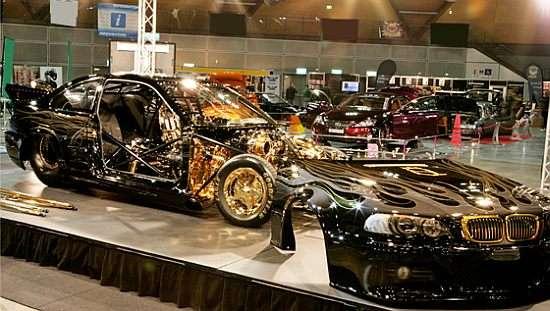 Glamorously Gilded Cars