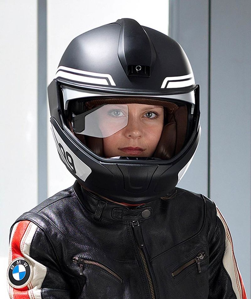 Intuitive Motorcycle Helmets