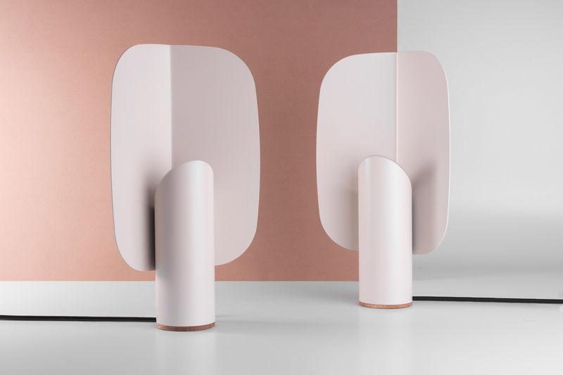 Lozenge-Shaped Table Lamps