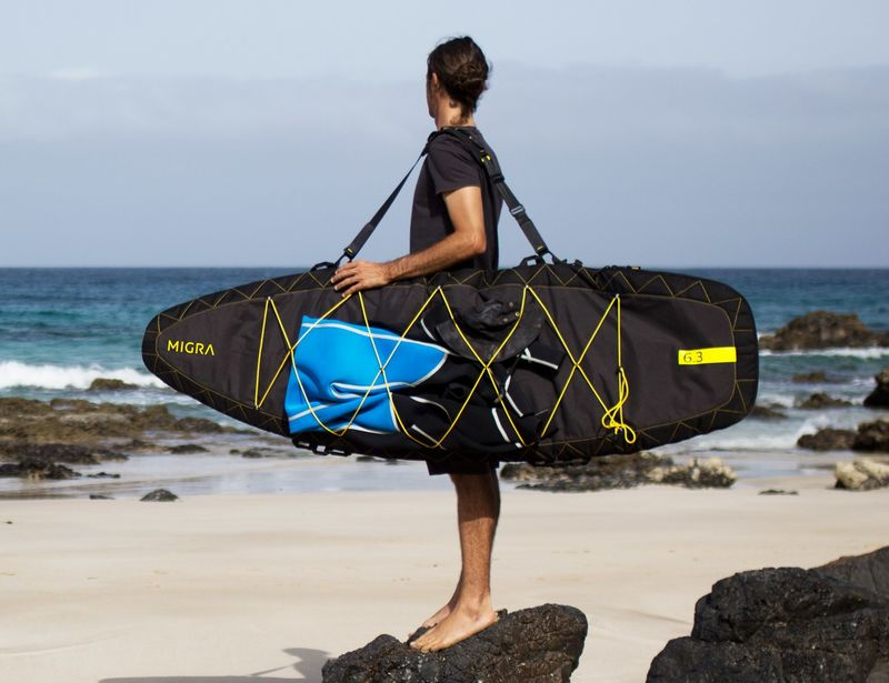 Surfboard-Protecting Luggage
