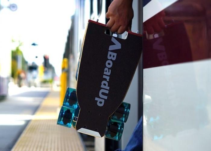 Folding Commuter Longboards
